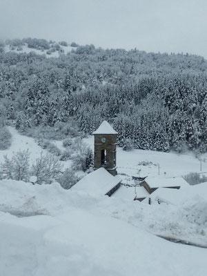 L'hiver à Cros de Géorand (Caroline)
