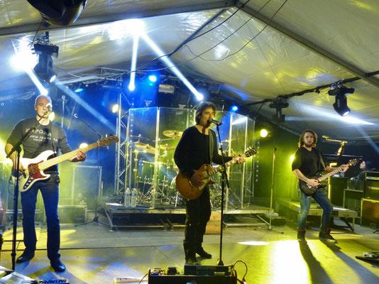 Le groupe Motel au bal de Pâques 2017 à Cros de Géorand