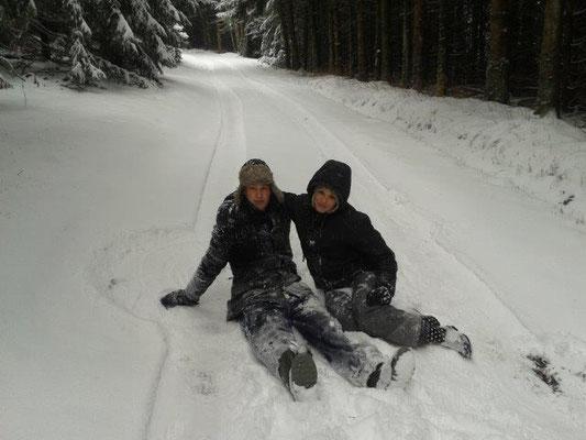 L'hiver à Cros de Géorand (Kees)