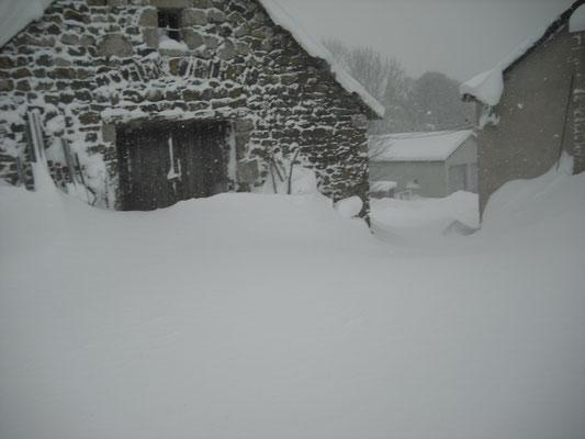 L'hiver à Cros de Géorand (Françoise)