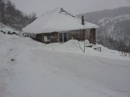 L'hiver à Cros de Géorand (Tania)