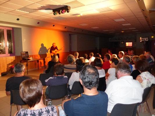 Concert Yves Paganelli à Cros de Géorand