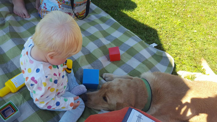 Duke Birchgrove im Urlaub mit Kindern