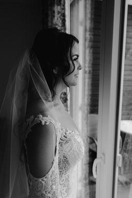 Brautportrait vor der Hochzeit