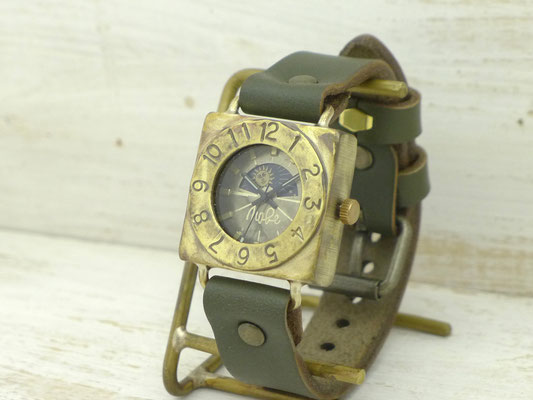 "312S&M ""Compass-S&M"" Mensサイズスクエア(約30mm)¥23,000(消費税別)"