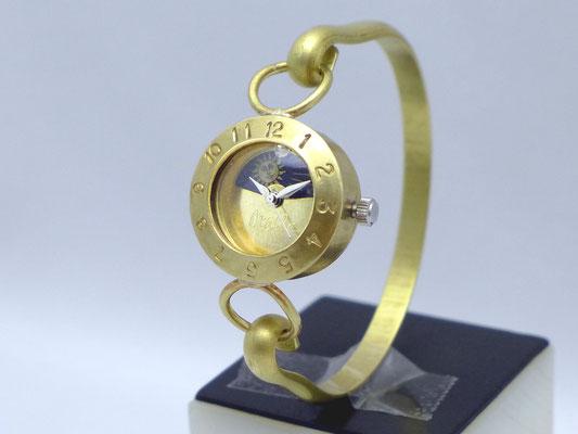 """289MSW-S&M  """"BrassArmlet3SW-S&M"""" 約22mm Brass(真鍮)  スワロフスキー ¥23,000(消費税別)"""