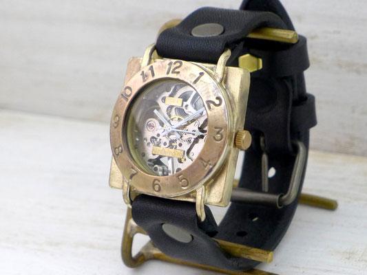 BHW079C  スクエアJUMOBO(約36mm) 銅ベゼル ¥26,000(消費税別)