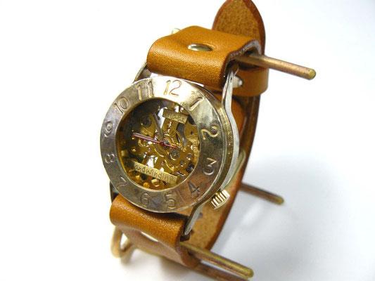 "BHW014B  アラビア数字 Mensサイズ(約32mm) ""Explorer2-BHW""  ¥22,000(消費税別)"