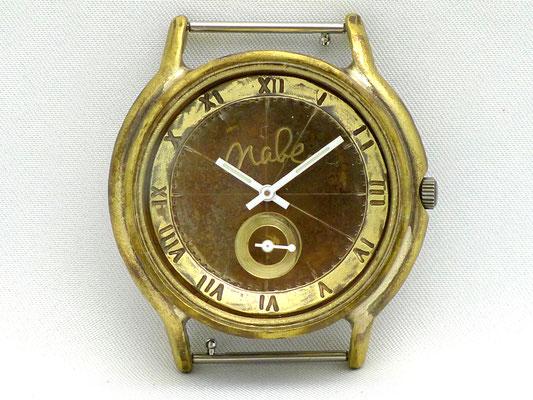 「Small Second」 6時位置に秒針を配したスモールセコンドモデル ローマ数字 ¥19,000(税別)