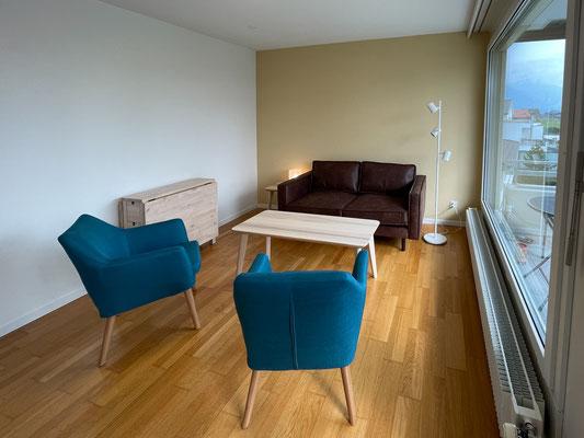 Wohnzimmer Haus 4 - Therapiezentrum Meggen