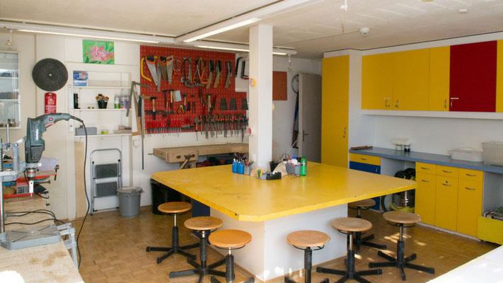 Atelier für technisches Gestalten - Therapiezentrum Meggen