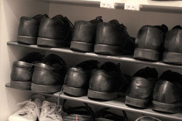 靴底の減り方で身体の歪みが分かる!