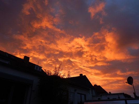 夕焼けの雲 | Sunset clouds