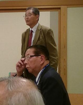 司会は小野澤憲雄先生。楽しい話術で会を盛り上げていました。