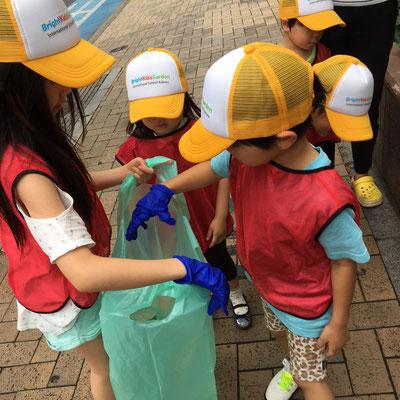 街の清掃活動