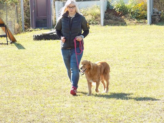 Sophie mit Bella