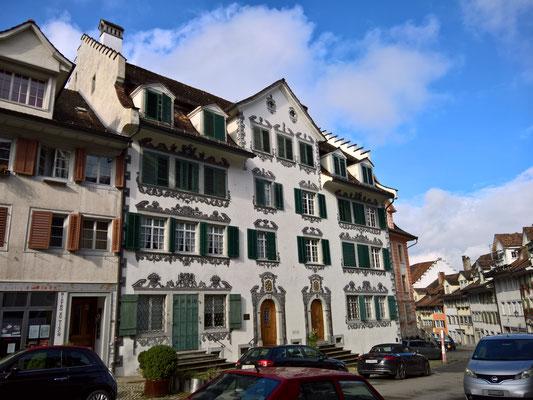 Prächtige Bauten, entstanden ca. 1795