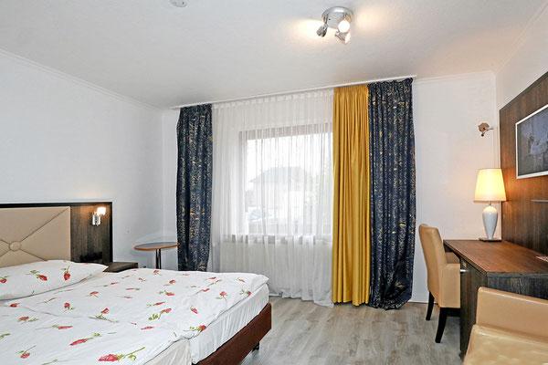 Doppelzimmer, die Betten können getrennt werden