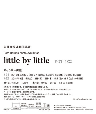 little by little #01+#02 | Gallery Kaido