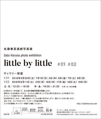 little by little #01+#02   Gallery Kaido