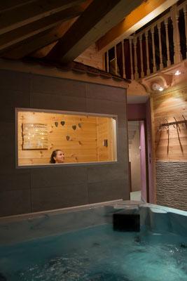 Sauna du gîte de montagne Le Maréva**** - Le Dévoluy - Hautes-ALpes
