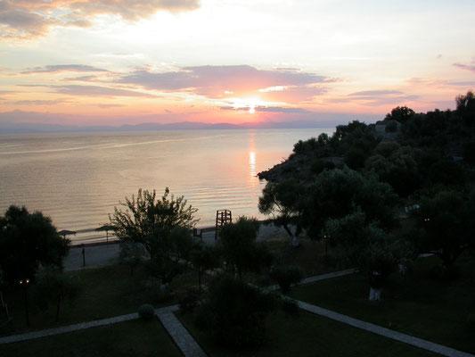 zonsopgang bij Gythio