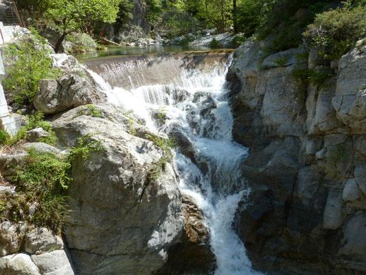 waterval bij Litochoro