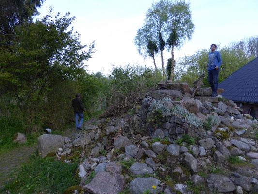 Roshan op de rotsheuvel