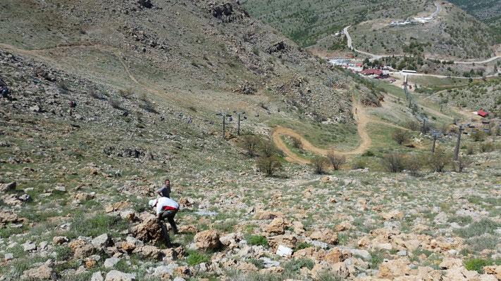 Uitzicht vanaf Mount Hermon