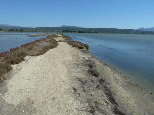 zoutvlakte bij Pilos
