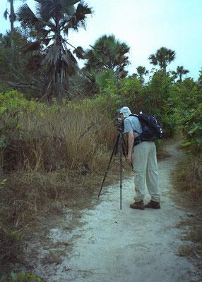 Martin aan het fotograferen