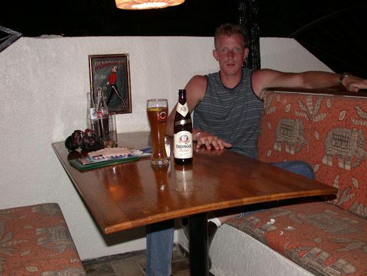 Dave bij Bantaba Inn