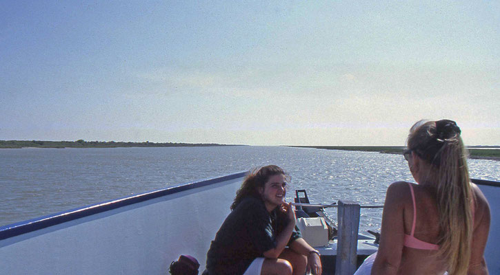 Medegasten op de boot