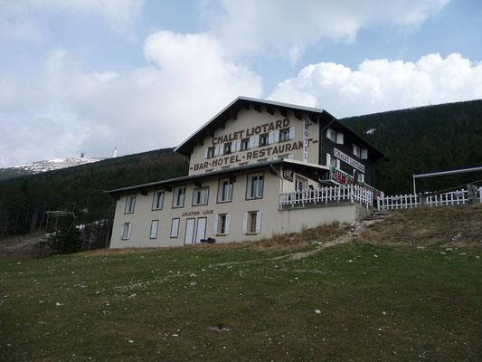 ons hotel op de Mont Serein