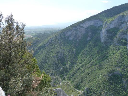 uitzicht vanaf Mount Olympos