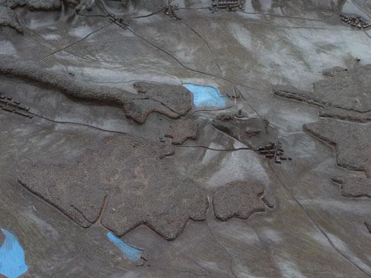 plattegrond op Butte de Montsec