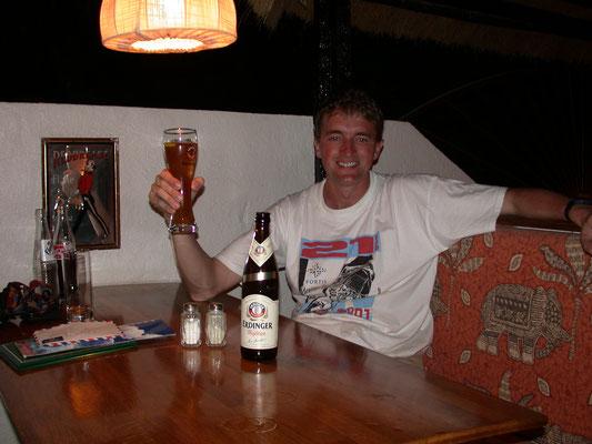 Martin bij Bantaba Inn