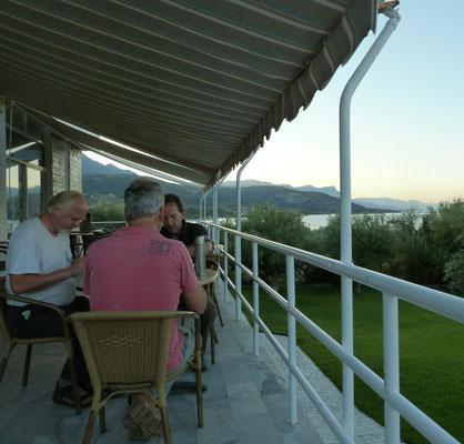 balkon van het hotel