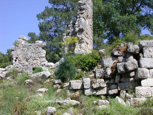 ruïnes Phaselis