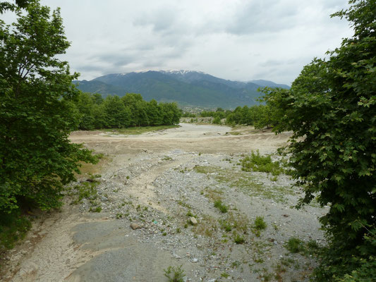 rivierbedding nabij ons hotel
