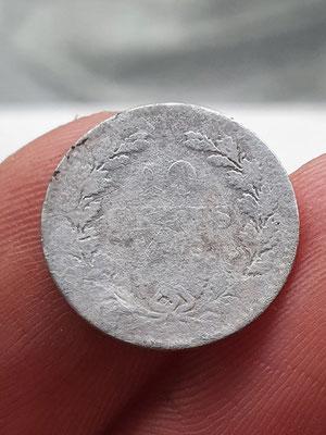 Dubbeltje  (10 cent) Koning Willen II, 1849