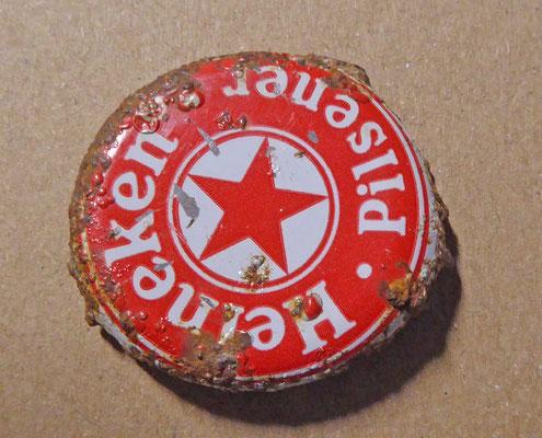 oude kroonkurk van Heineken