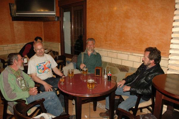 Ronald, Ruud, Haijo en Jil