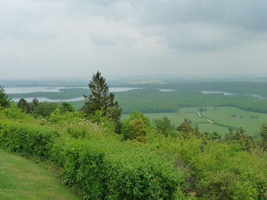 uitzicht vanaf Butte de Montsec