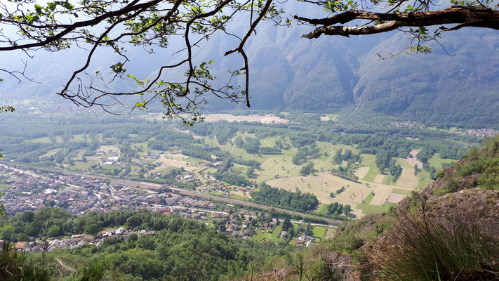 Uitzicht tijdens Marijns wandeling, foto Marijn