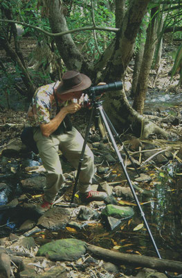 Ron aan het fotograferen
