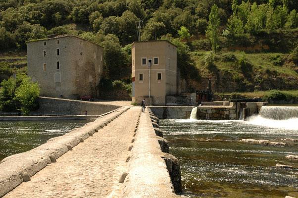 dam over Ardèche