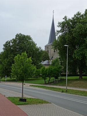 de plaatselijke kerk