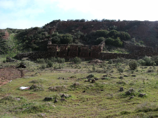 terrein van de oude ijzermijn
