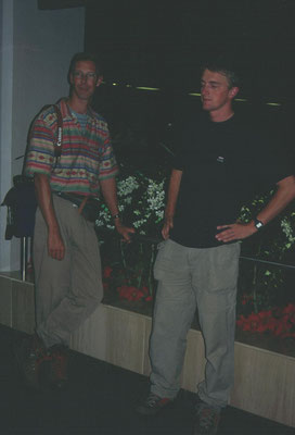 Ron en Martin in Singapore